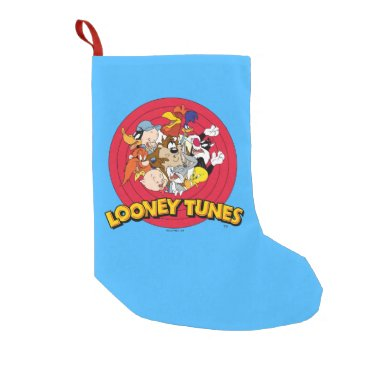 LOONEY TUNES™ Character Logo Small Christmas Stocking