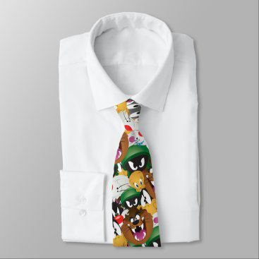 LOONEY TUNES™ Emoji Pattern Neck Tie