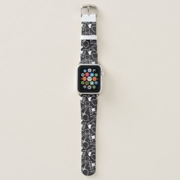 LOONEY TUNES™ Head Outlines Pattern Apple Watch Band