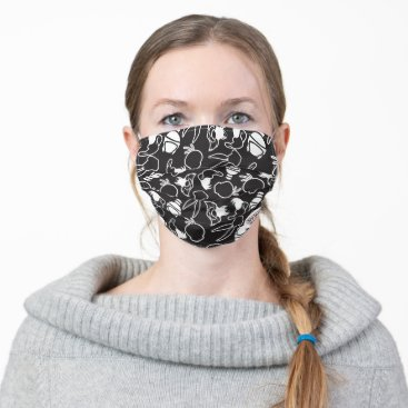 LOONEY TUNES™ Head Outlines Pattern Cloth Face Mask