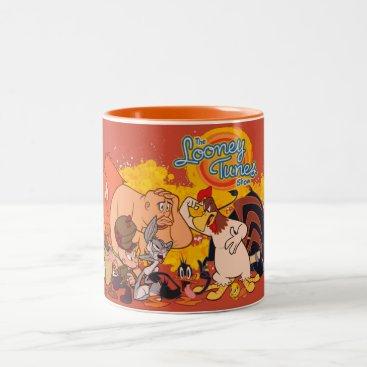 Looney Tunes Show Cast & Logo Two-Tone Coffee Mug