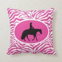 Western Pleasure Pillows - Decorative & Throw Pillows | Zazzle