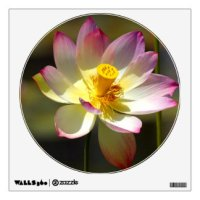 Lotus Wall Decals & Wall Stickers | Zazzle