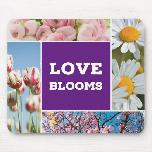 Love Blooms Mousepad