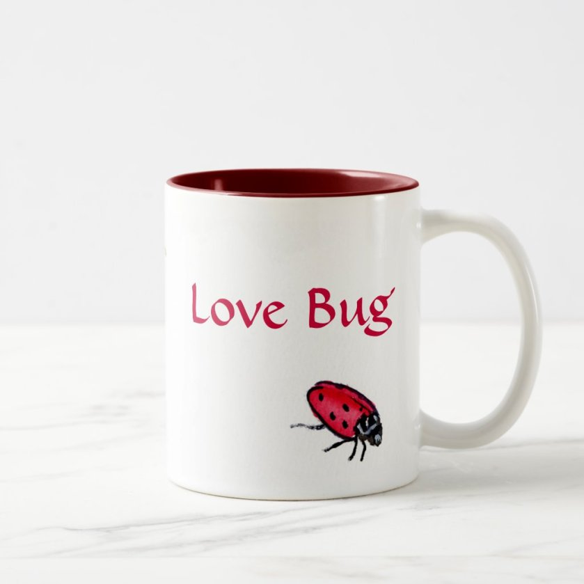 Love Bug Ladybuy Custom Art Mug