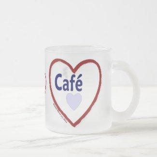 Love Café - Frosted Mug