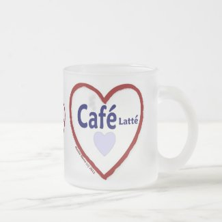 Love Café Latté - Frosted Mug