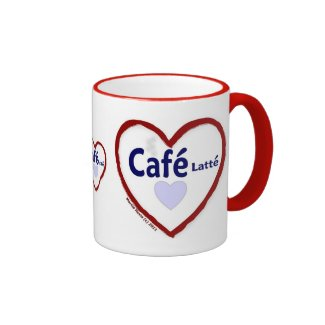 Love Café Latté - Ringer Mug
