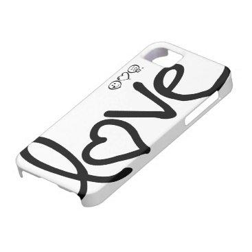 love iPhone SE/5/5s case