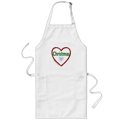 Love Christmas Apron