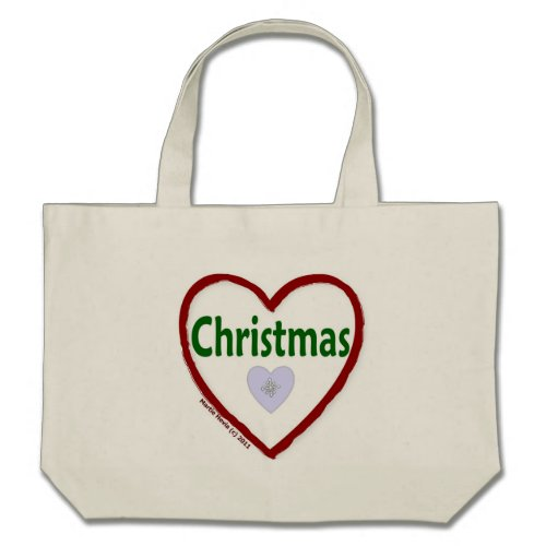 Love Christmas Tote Bags