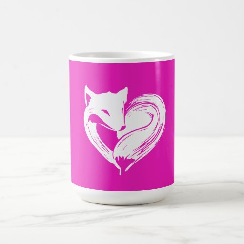 Love Foxes - Mug White