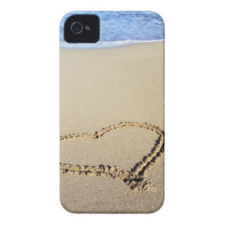 Love Heart Beach Case-Mate iPhone 4 Case