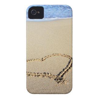 Love Heart Beach Case-Mate iPhone 4 Case