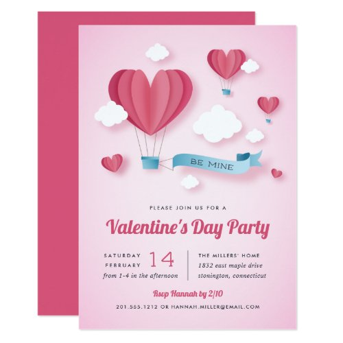 Love is in the Air | Valentine's Day Party Invitation