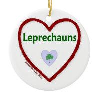 Love Leprechauns Christmas Tree Ornaments