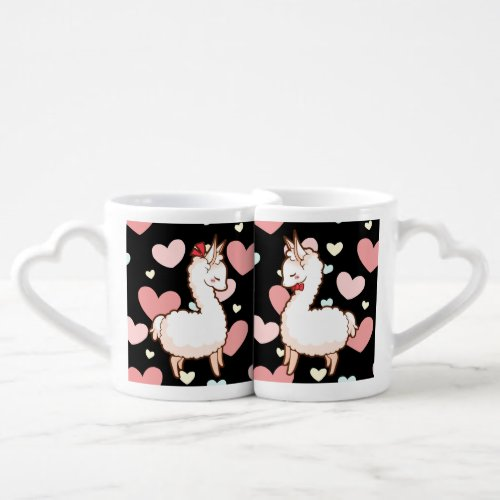 Love Llamas Coffee Mug Set