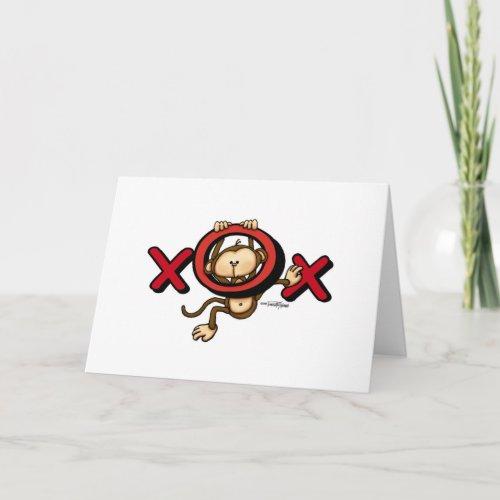 Love Monkey Valentine card