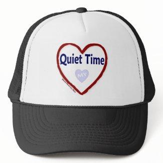 Love My Quiet Time Trucker Hats