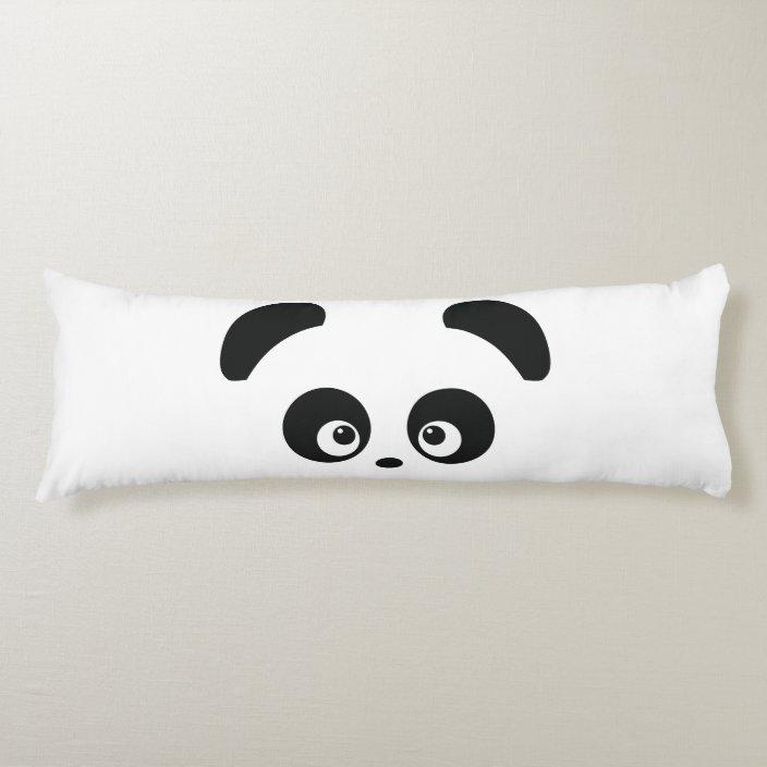 love panda body pillow zazzle com