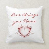 Love Quote Throw Pillow | Zazzle
