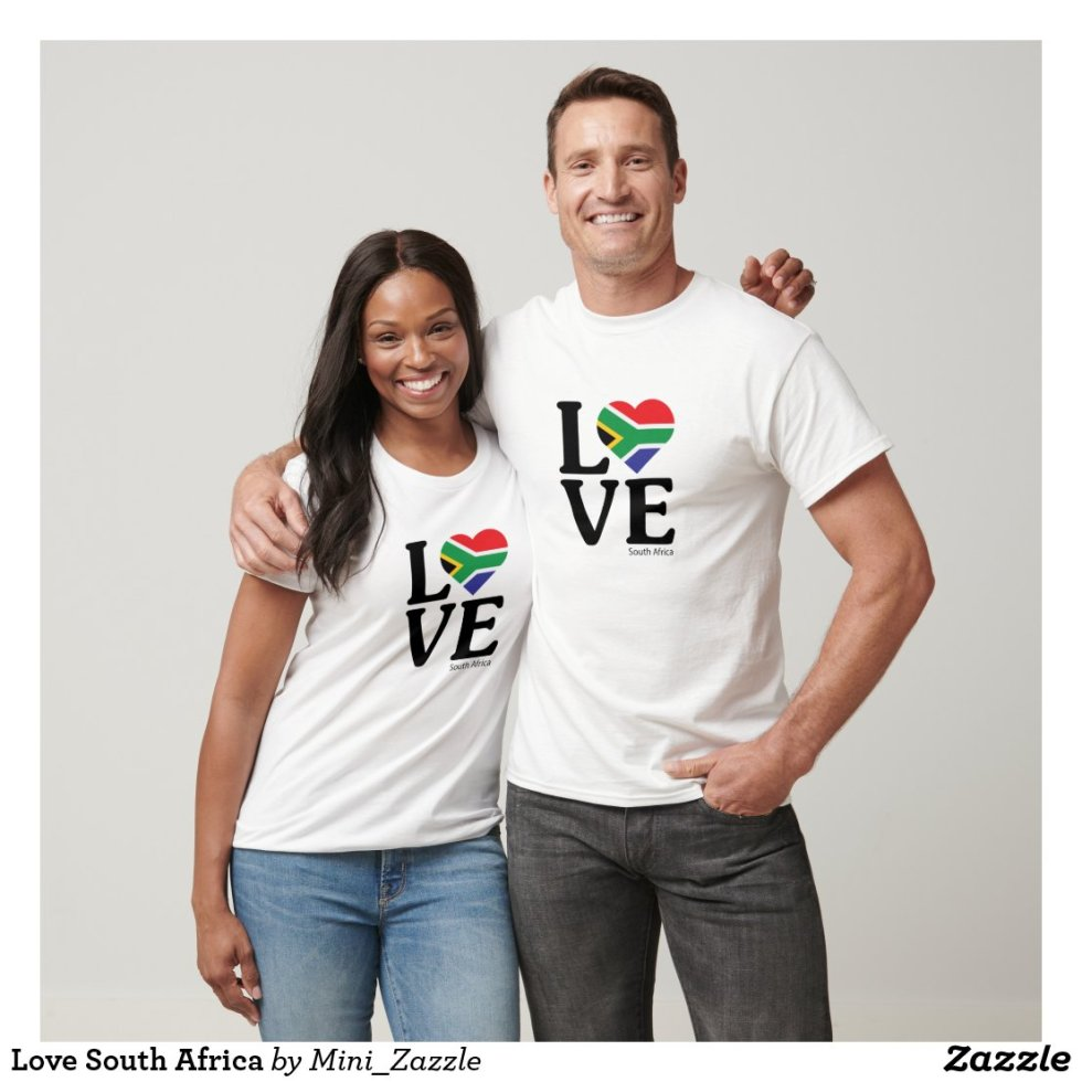 Love South Africa Couple T-Shirt