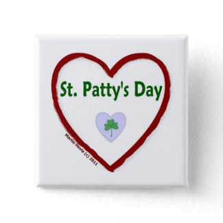 Love St. Patty's Day Pins