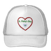Love St. Patty's Day Trucker Hat