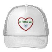 Love St. Patty's Day Trucker Hat
