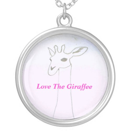 Love The Giraffee necklace