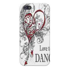 Love to Dance iPhone 4 Case
