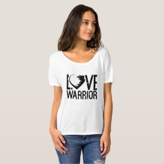 Love Warrior Slouchy Boyfriend T-Shirt