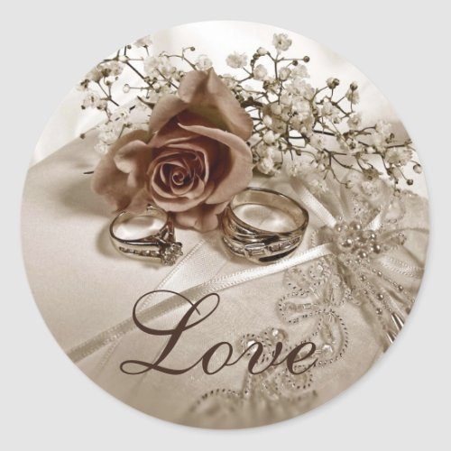 Love Wedding Stickers sticker