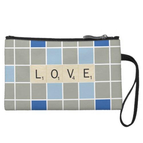 Love Wristlet Wallet