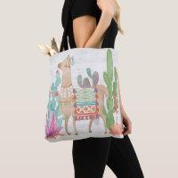 Lovely Llamas IV Tote Bag