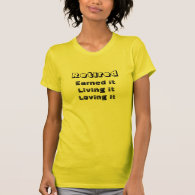 loving retirement teeshirt