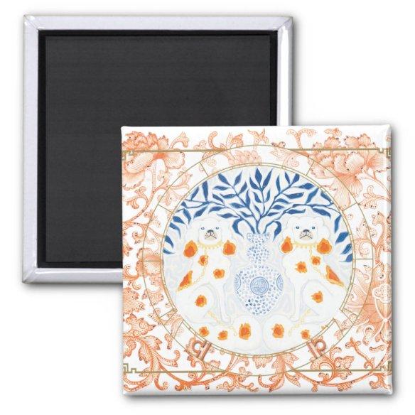 Lucky Dog | Zodiac magnet