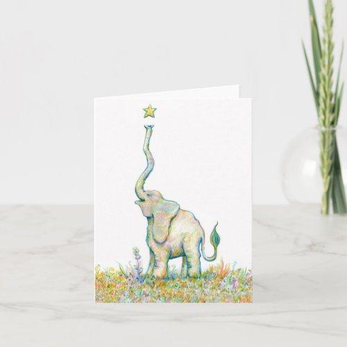 Lucky Elephant - Note Card - 4