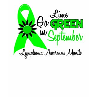 Lymphoma Awareness Month Flowers 2 shirt