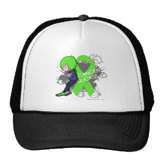 Lymphoma Cancer Sucks (Boy) hat