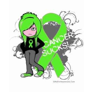 Lymphoma Cancer Sucks (Girl) shirt
