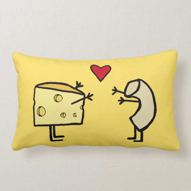 Mac and Cheese Pillow  Zazzle