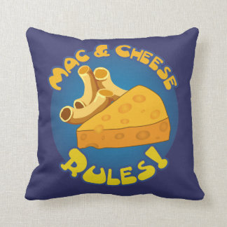 Macaroni And Cheese Pillows  Decorative  Throw Pillows