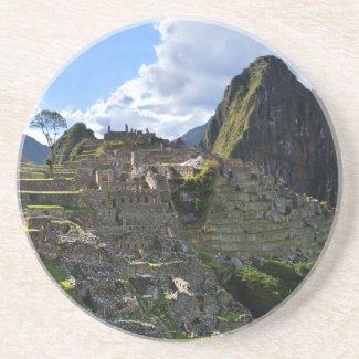 Machu Picchu, Peru Beverage Coaster