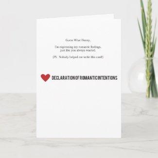 Mad Lib Valentine Day Card