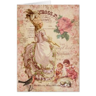 Mademoiselle Couture Greeting Cards