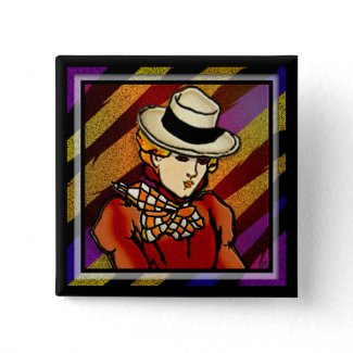 Maggie (pin) button