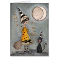 Magic Moon - Greeting Card