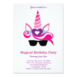 ❤️ Magical Unicorn Birthday Invitation