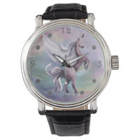 Magical Unicorn Style | Watercolor Colorful Pastel Watch